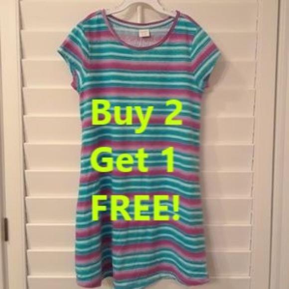 NEW Gymboree Girls Tropical Bird Aqua Shirt matching Striped Shorts size 5 6 8